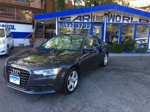 2012 Audi A6 for sale at Car World Inc in Arlington VA