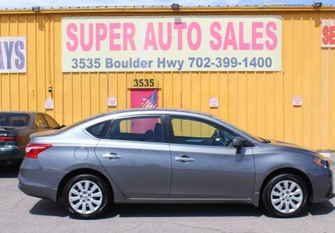 2019 Nissan Sentra for sale at Super Auto Sales in Las Vegas NV