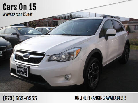 2013 Subaru XV Crosstrek for sale at Cars On 15 in Lake Hopatcong NJ