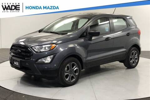 2018 Ford EcoSport for sale at Stephen Wade Pre-Owned Supercenter in Saint George UT