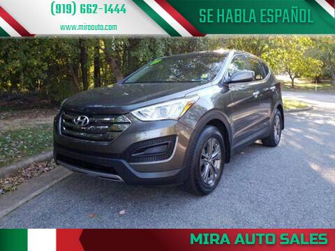 2013 Hyundai Santa Fe Sport for sale at Mira Auto Sales in Raleigh NC