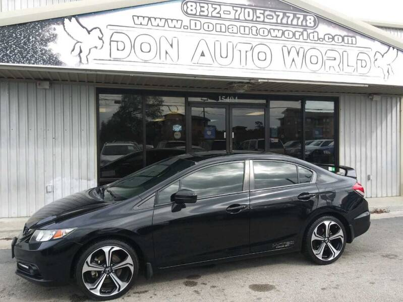 2015 Honda Civic for sale at Don Auto World in Houston TX