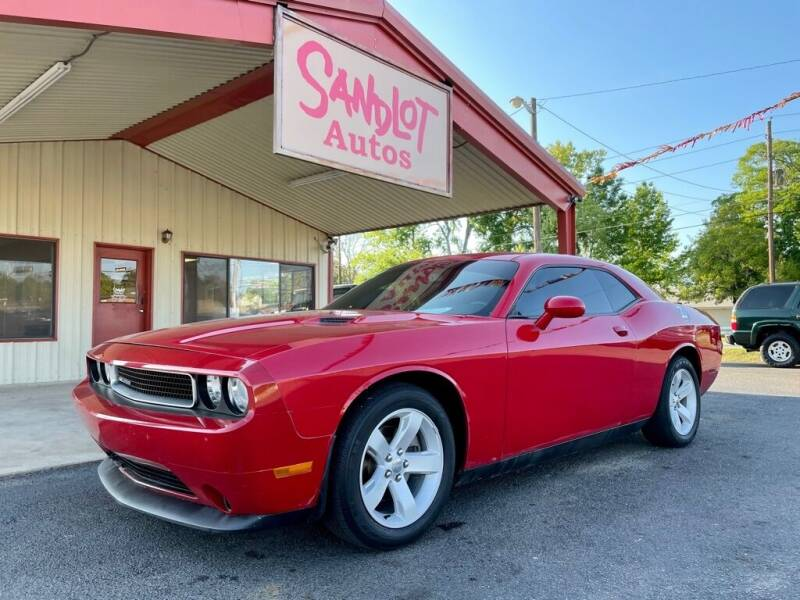 2012 Dodge Challenger for sale at Sandlot Autos in Tyler TX