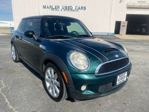 2007 MINI Cooper for sale at MARLER USED CARS in Gainesville TX