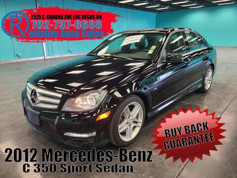 2012 Mercedes-Benz C-Class for sale at Reliable Auto Sales in Las Vegas NV