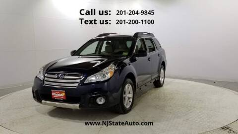 2014 Subaru Outback for sale at NJ State Auto Used Cars in Jersey City NJ