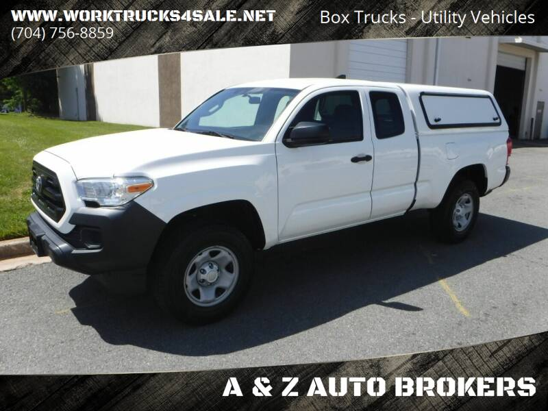 2017 Toyota Tacoma for sale at A & Z AUTO BROKERS in Charlotte NC