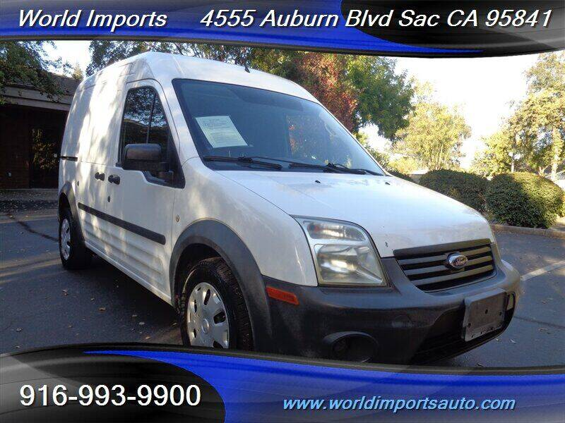 2010 Ford Transit Connect for sale at World Imports in Sacramento CA