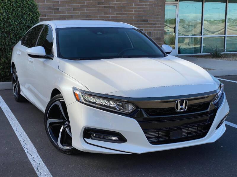2018 Honda Accord for sale at AKOI Motors in Tempe AZ