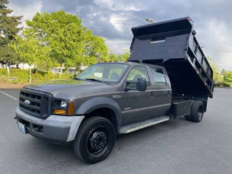 2006 Ford F-550 Super Duty for sale at Washington Auto Loan House in Seattle WA