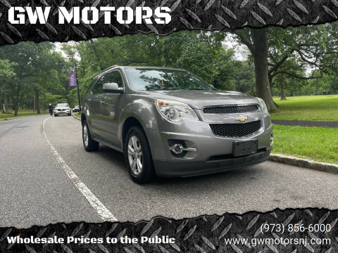 2012 Chevrolet Equinox for sale at GW MOTORS in Newark NJ