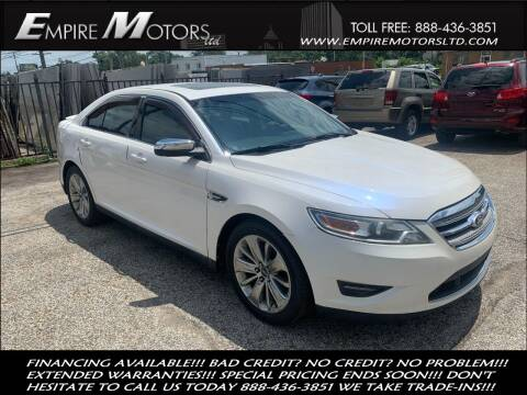 2010 Ford Taurus for sale at Empire Motors LTD in Cleveland OH