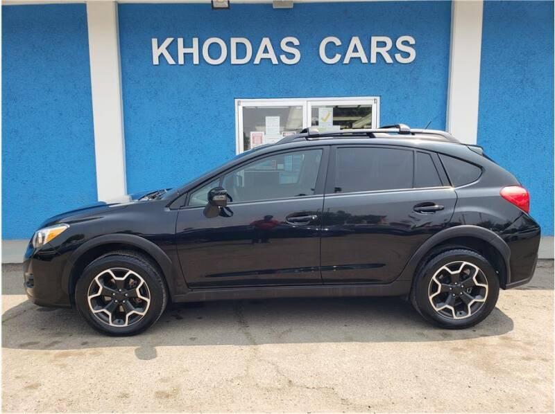 2015 Subaru XV Crosstrek for sale at Khodas Cars in Gilroy CA