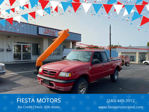 2001 Mazda B-Series Pickup for sale at FIESTA MOTORS in Hagerstown MD