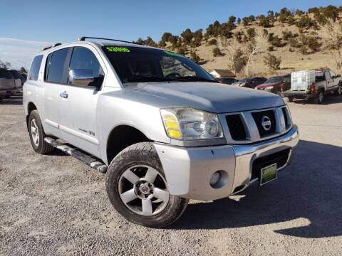 2006 Nissan Armada for sale at Canyon View Auto Sales in Cedar City UT