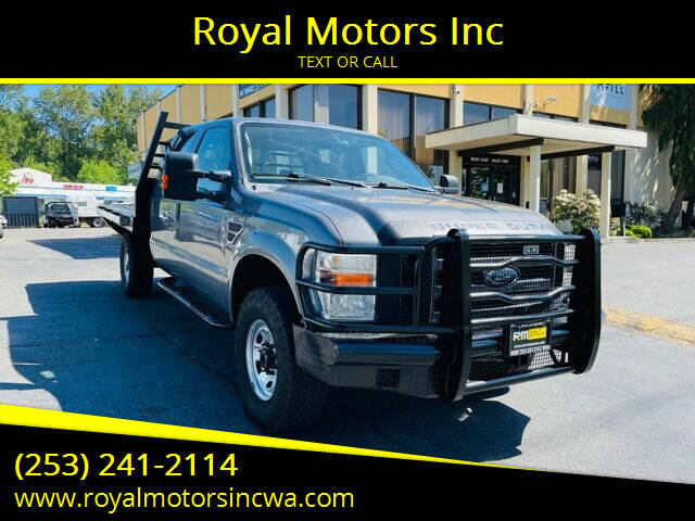 2010 Ford F-350 Super Duty for sale at Royal Motors Inc in Kent WA