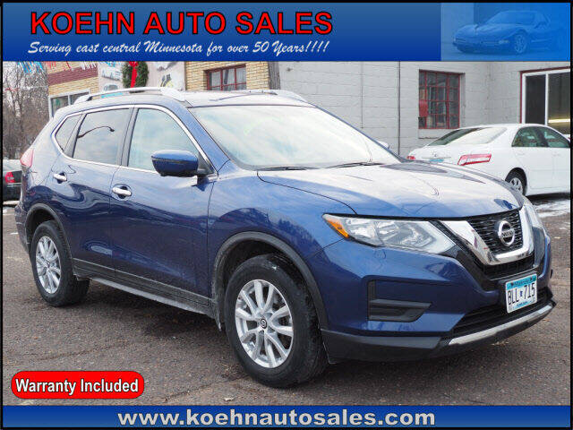 2017 Nissan Rogue for sale at Koehn Auto Sales in Lindstrom MN