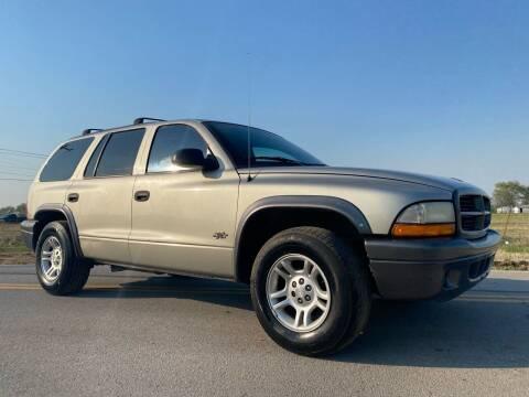 2002 Dodge Durango for sale at ILUVCHEAPCARS.COM in Tulsa OK