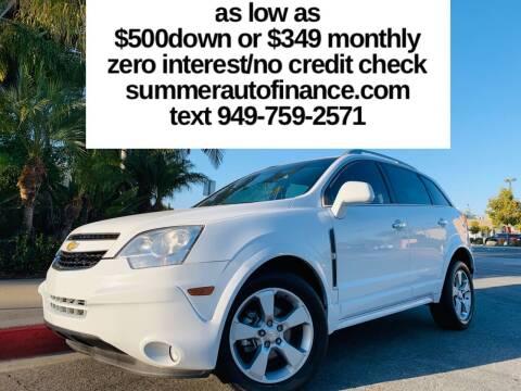 2014 Chevrolet Captiva Sport for sale at SUMMER AUTO FINANCE in Costa Mesa CA