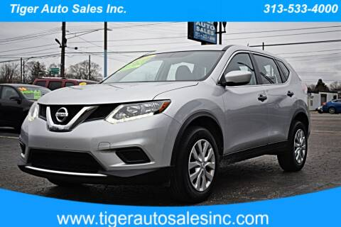 2016 Nissan Rogue for sale at TIGER AUTO SALES INC in Redford MI