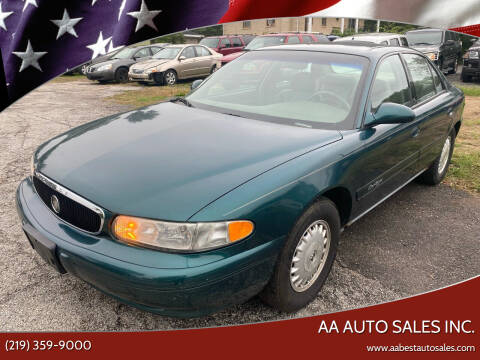 2000 Buick Century for sale at AA Auto Sales Inc. in Gary IN