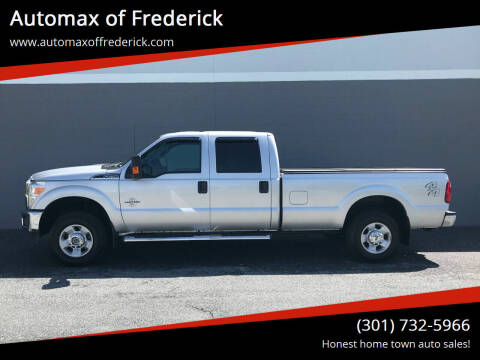 2012 Ford F-250 Super Duty for sale at Automax of Frederick in Frederick MD
