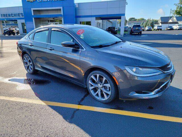2016 Chrysler 200 for sale at Frenchie's Chevrolet and Selects in Massena NY