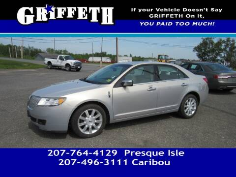 2010 Lincoln MKZ for sale at Griffeth Mitsubishi - Pre-owned in Caribou ME
