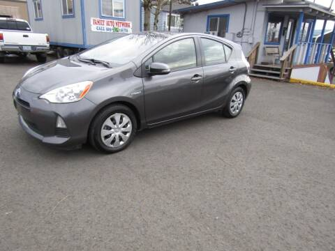 2012 Toyota Prius c for sale at ARISTA CAR COMPANY LLC in Portland OR