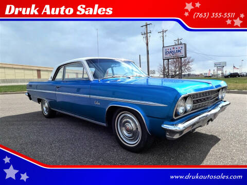 1963 Oldsmobile Cutlass for sale at Druk Auto Sales in Ramsey MN