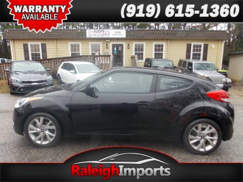 2016 Hyundai Veloster for sale at Raleigh Imports in Raleigh NC
