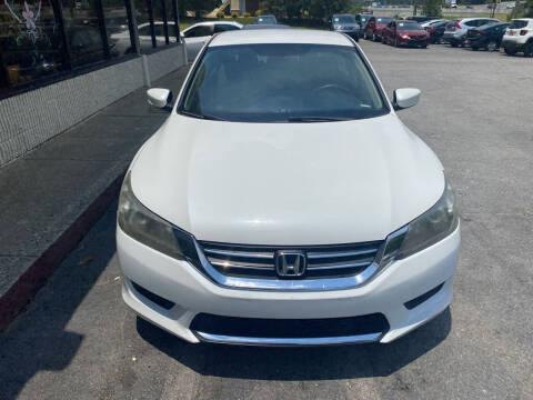 2013 Honda Accord for sale at J Franklin Auto Sales in Macon GA
