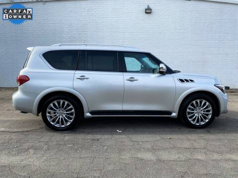 2016 Infiniti QX80 for sale at Smart Chevrolet in Madison NC