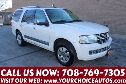 2007 Lincoln Navigator for sale at Your Choice Autos in Posen IL