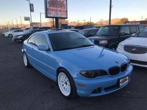 2004 BMW 3 Series for sale at ATLAS MOTORS INC in Salt Lake City UT
