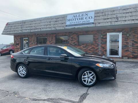 2016 Ford Fusion for sale at Allen Motor Company in Eldon MO