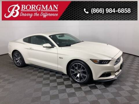 2015 Ford Mustang for sale at BORGMAN OF HOLLAND LLC in Holland MI