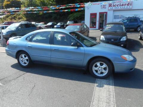 2005 Ford Taurus for sale at Ricciardi Auto Sales in Waterbury CT