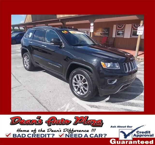 2014 Jeep Grand Cherokee for sale at Dean's Auto Plaza in Hanover PA