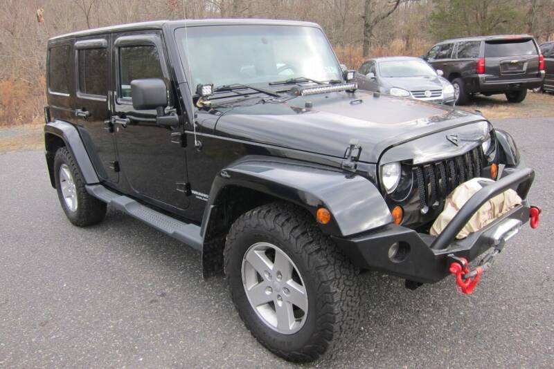 2011 Jeep Wrangler Unlimited for sale at K & R Auto Sales,Inc in Quakertown PA