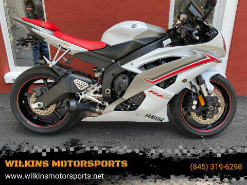 2009 Yamaha YZF-R6 for sale at WILKINS MOTORSPORTS in Brewster NY