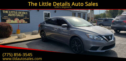 2016 Nissan Sentra for sale at The Little Details Auto Sales in Reno NV