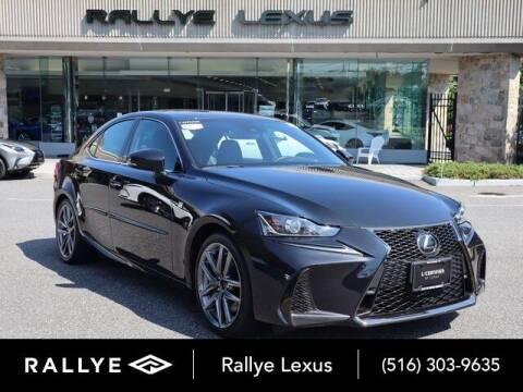 2018 Lexus IS 350 for sale at RALLYE LEXUS in Glen Cove NY