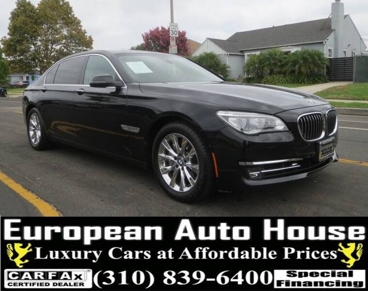 2015 BMW 7 Series for sale at European Auto House in Los Angeles CA