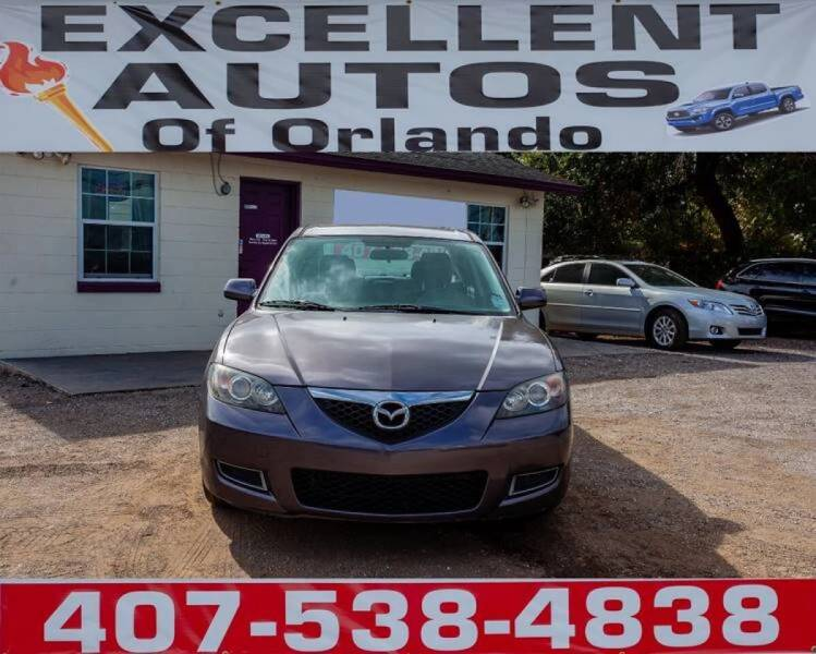 2008 Mazda MAZDA3 for sale at Excellent Autos of Orlando in Orlando FL