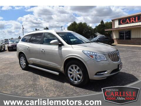 2015 Buick Enclave for sale at Carlisle Motors in Lubbock TX