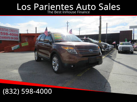 2012 Ford Explorer for sale at Los Parientes Auto Sales in Houston TX