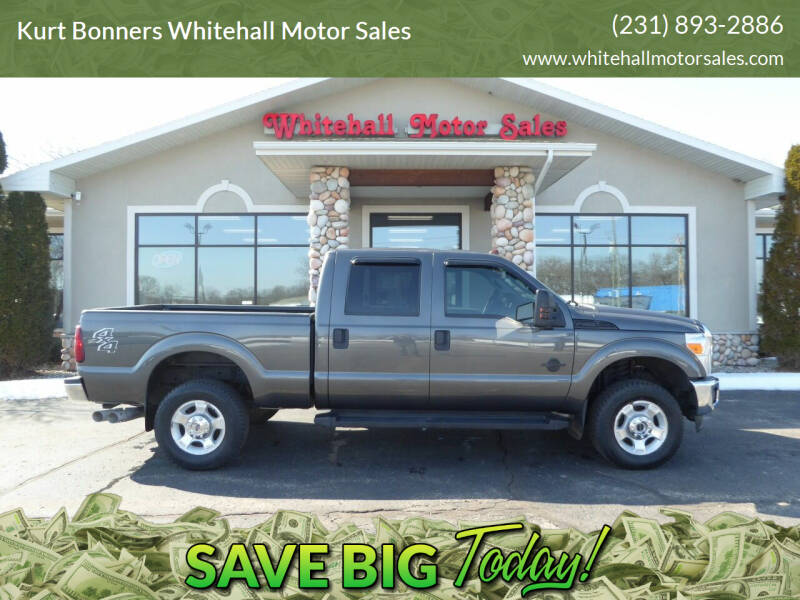 2016 Ford F-250 Super Duty for sale at Kurt Bonners Whitehall Motor Sales in Whitehall MI