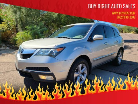 2011 Acura MDX for sale at BUY RIGHT AUTO SALES 2 in Phoenix AZ