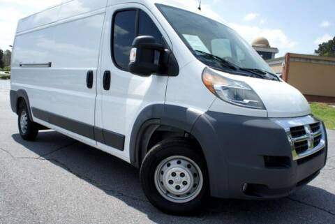 2017 RAM ProMaster Cargo for sale at CU Carfinders in Norcross GA